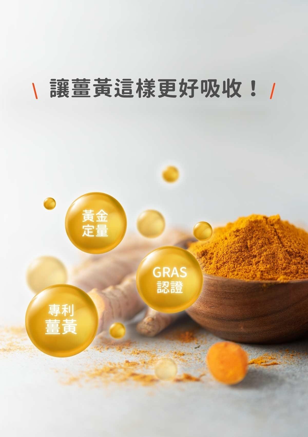 簡單4大重點,讓保健聖品薑黃這樣更好吸收!(2021)