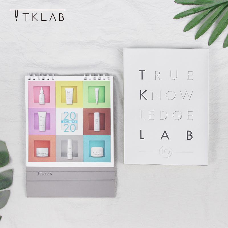 【TK獨家周邊-TK2020桌曆🗓&純白硬殼筆記本📙】(選筆記本之訂單於10/25起出貨)