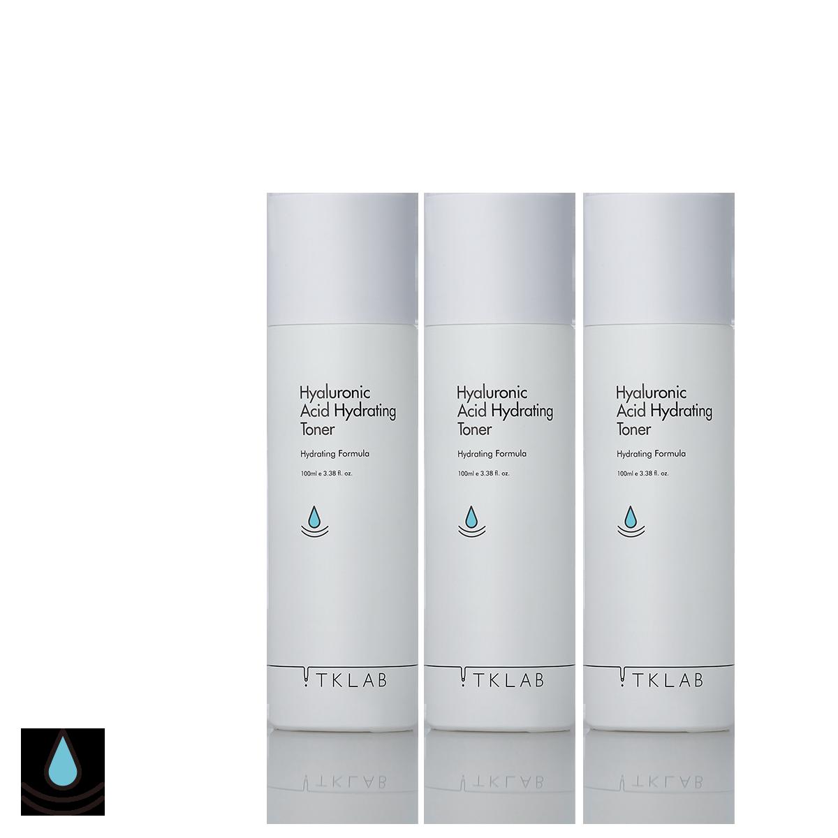 玻尿酸保濕化妝水(3入組)