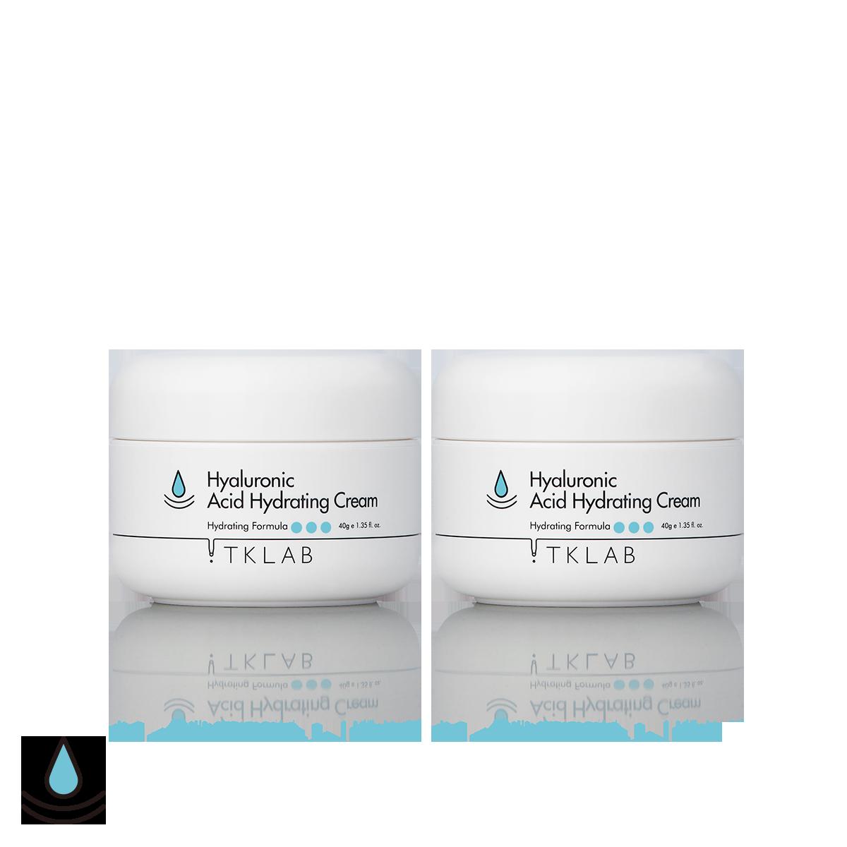 玻尿酸潤澤保濕精華霜(2入組)