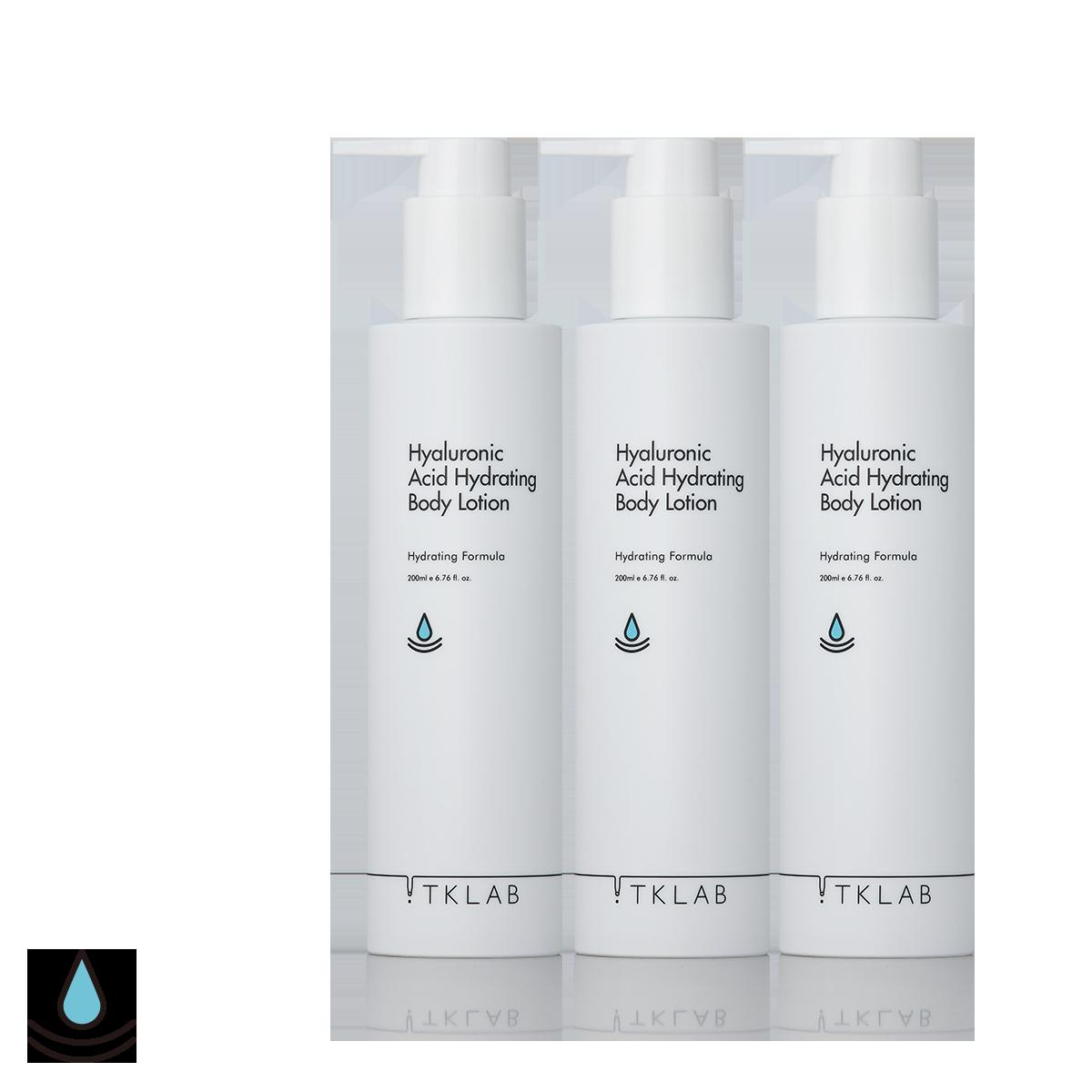 玻尿酸保濕身體乳(3入組)