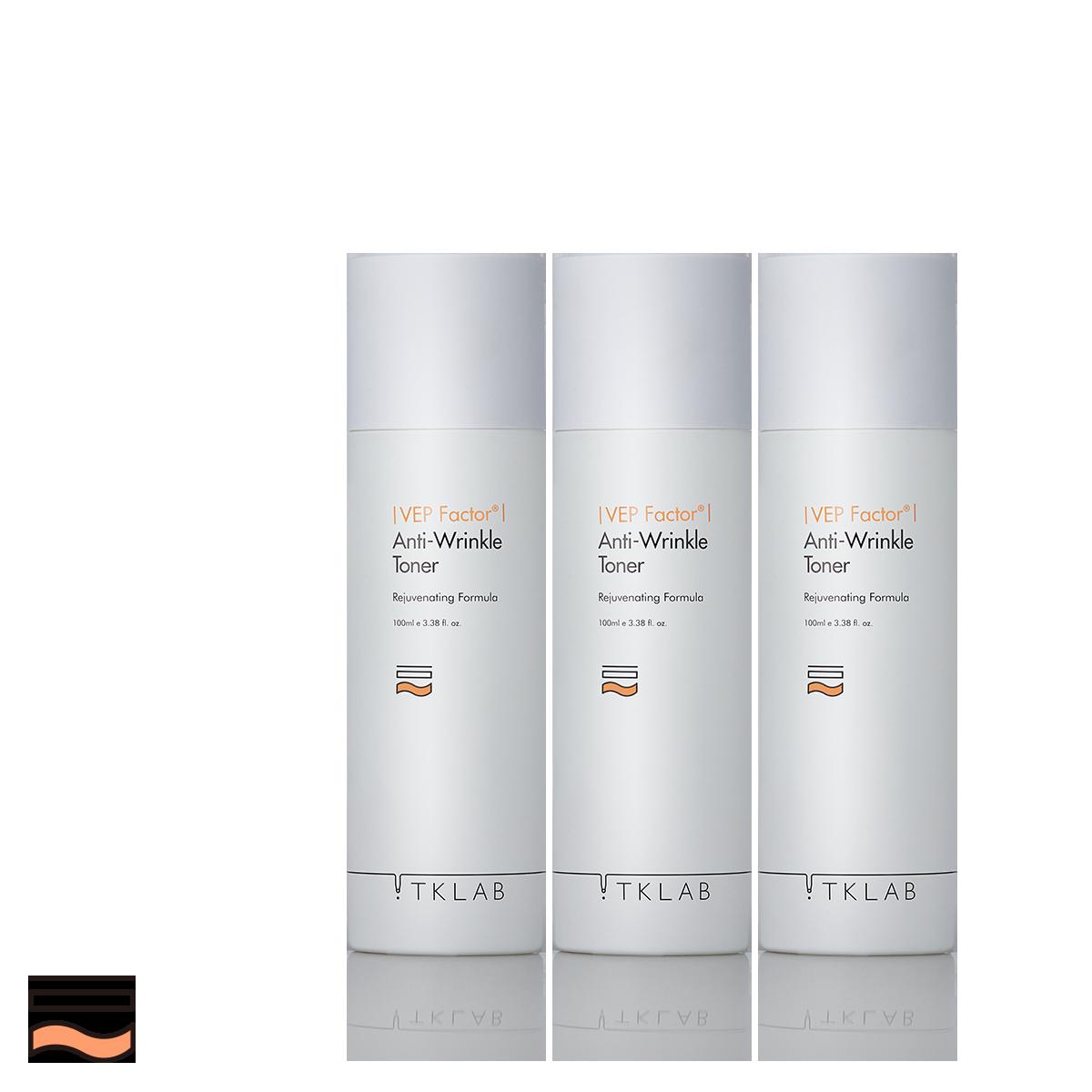 多肽緊緻抗皺化妝水(3入組)