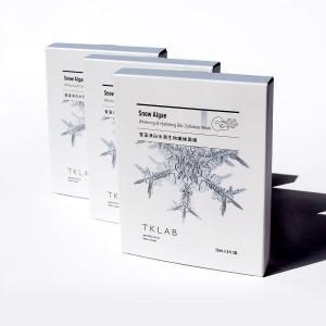 雪藻淨白水潤生物纖維面膜-APP