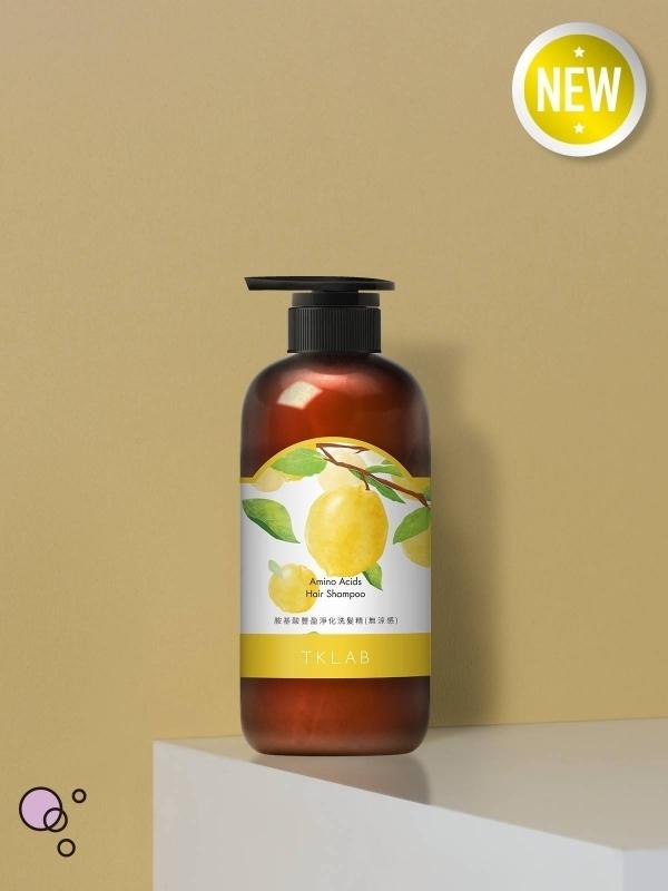 新品-胺基酸豐盈淨化洗髮精(無涼感)