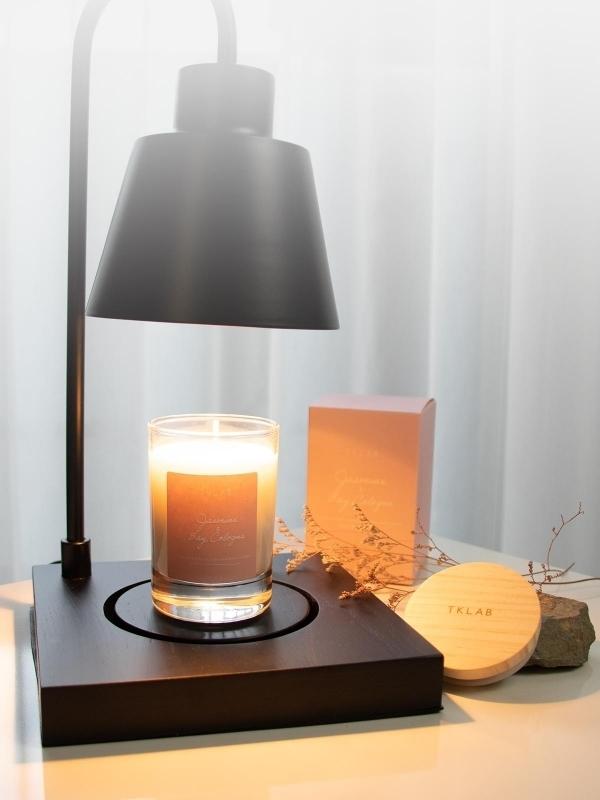 茉莉與月桂葉香氛手工蠟燭
