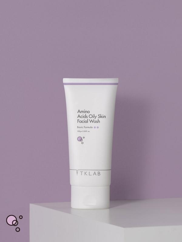 氨基酸油肌版潔顏霜