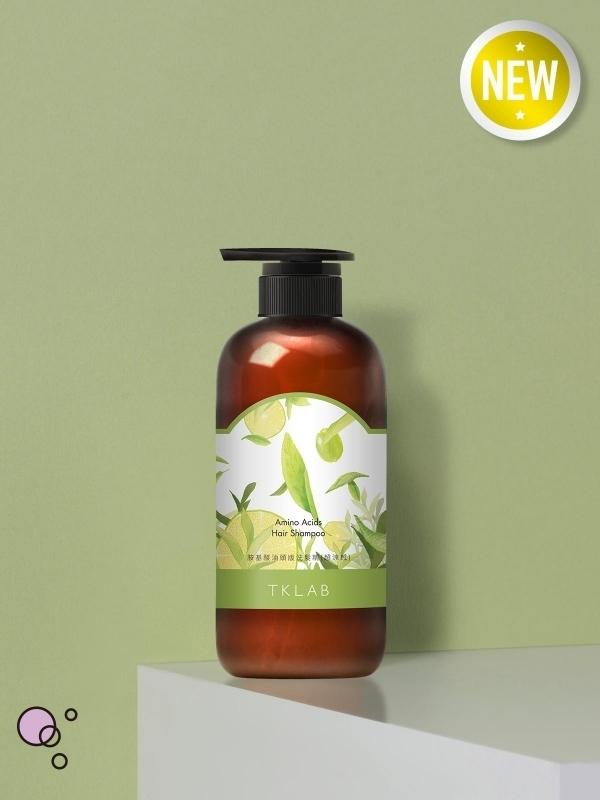 新品-胺基酸油頭版洗髮精(超涼感)